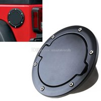 Wholesale Auto ABS Fuel Filler Cover Gas Tank Cap Door For Jeep Wrangler M00030 SPDH