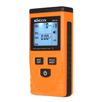 Wholesale KKmoon Digital LCD Electromagnetic Radiation Detector Meter Dosimeter Tester Counter DHL E0546