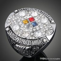 Wholesale 2008 Pittsburgh National Football Steelers sale replica super bowl championship rings men jewelry STR0