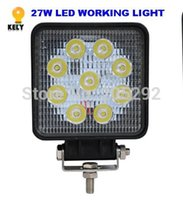 Wholesale 12 V W lm quot inch LED WORKING LIGHT FOR CAR WORKING LAMP