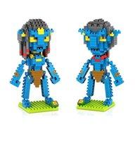 avatar sully - LOZ Diamond Avatar Movie Series Pandora Jake Sully Diamond Bricks Minifigures Building Block Minifigure Toy Kid Toy For Gift