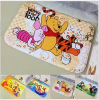 Wholesale Bear Tigger cartoon mat mat non slip mats