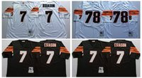 bengals throwback jersey - Stitiched Cincinnati jerseys Bengals Boomer Esiason Anthony Munoz Throwback for mens jerseys real photos