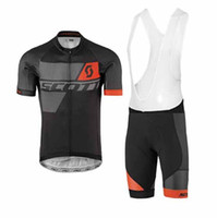 ak m - 2017 Scott Cycling jerseys bike clothes Bicycle Clothing Set Men Wear Suit Jersey Bib Shorts mtb bike clothing sport jersey bicycle AK