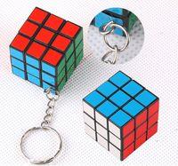 Wholesale New Mic Rubik Cube X3x3 cm Puzzle Magic Cube Game adult children educational toys DHL