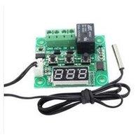 Wholesale W1209 Temperature Control Switch Module Digital Display Temp Thermostat DC V Temperature Controller Thermometer Thermo Board
