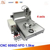 acrylic cnc machine - 3D CNC Router axis engraving machine cnc with KW water cooled spindle for Acrylic wood light metal cutting