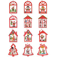 bells hairs - Hot Christmas Ornaments Christmas Reindeer Bell tree Decorations Home Festival Party hanging props pc per