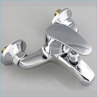 Wholesale Zinc Alloy bath shower faucet bathroom bathtub shower faucet Hot and cold faucet J14838
