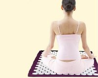 acupuncture mat - Massager Cushion Acupressure Mat Relieve Stress Pain Tension Acupuncture Yoga Mat Brand New