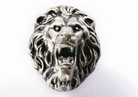 ancient european art - In modern European art to do the old wardrobe door drawer personality ancient silver lion head handle handle PA055