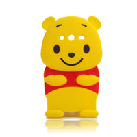 winnie the pooh s4 - 2016 Hot New Products Manufacturers For Iphone Winnie the Pooh Silicone Phone Samsung S4 Case