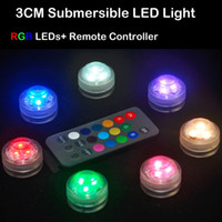 battery powered candles with remote - 10pcs Waterproof LED Under Water Tea Light RGB Submersible Floral LED Candles Replaceable CR2032 Batteries Powered With Remote