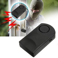 Wholesale Portable DB Loud Wireless Touch Sensor Door Knob Entry Alarm Alert Security Design Hot Sale