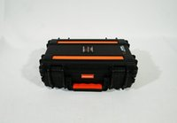 Wholesale AURA Classic Safety Box Waterproof Equipment Case IP67 Toolbox Cabinets Military suitcase Strap Video Camera Laptop Case AI