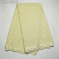 africa retail - New arrival Africa swiss satin drill with stones beautiful swiss voile lace in switzerland and retail TCR143