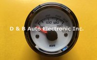 automobile temperature gauge - 1pc White Color Brand New V V Fuel Temperature Gauges Oil Temp Meters For Automobile Boat With Sensor