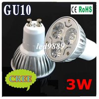 Cheap AC 110-240V 6pcs lot High Power Led lamp 3W GU10 E27 E14 MR16 AC85-265V Led Spot light Spotlight Led Bulb Cold Warm White