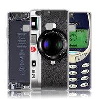 modelli maschili coperture del telefono mobile HUAWEI P9 camuffamento fotocamera Leica Lite ultra-sottile P9plus marea di mappare i singoli set personalizzati