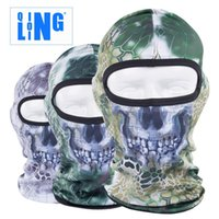 Wholesale New Popular Lin outdoor sports field CS Flying Tiger headgear jungle Python breathable sunscreen caps riding Skull Mask