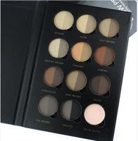 Wholesale New Makeup Brow Pro Palette Profession Pour Sourcils Brow Powder Double Colors Eyebrow Shadow