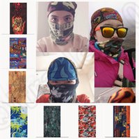 Wholesale 54 design LJJK197 Hot Multi Purpose Head Face Mask Snood Bandana Neck Warmer Sport Scarf Sunscreen Hiking Cycling Shawl Scarf