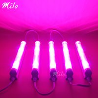 Wholesale pcsx12W W T8 LED grow light nm Red nm Blue combinated growth led bar with connected cable wire AC85 V