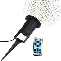 Wholesale DHL Remote Control Christmas Lights Outdoor Lights Sparkle Magic Lights IP65 Waterproof for House Yard Patio Trees Party