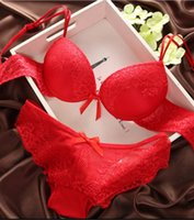 bc colors - New Arrival Summer Style Lace Embroidery Sexy Women Bra Set Lady Push Up Temptation Underwear Sets BC Cup Colors