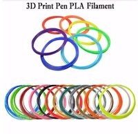 Wholesale DIY M D Printer Filament PLA D Printing Material mm For D Printer Pen Consumerble Supplies For Makerbot Rearap UP Graffiti material
