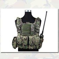airsoft gear set - Tactical RRV Vest Pouchs Set Airsoft Army Combat Gear EMERSON MOLLE Camouflage Vest Multicam MC500D