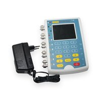 Wholesale DHL Standard Accessories Medical Portable Device inch Color TFT Touch screen MS400 Multiparameter Simulator
