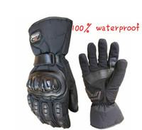 alpine gloves - Men Full Finger Motos Alpine Stars Motocross Motorcycle Gloves Winter Warm Windproof Protective