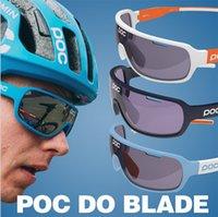 al por mayor sunglasses bike-bike los vidrios polarizado anti-niebla en bici bici velo gafas gafas de sol POC DO 2 de la bicicleta de la bici de la lente de los anteojos Casual deportes al aire libre