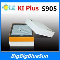 Cheap KI Plus + DVB S2 T2 Android 5.1 TV Box Amlogic S905 Quad Core 1G 8G Media Player Wifi KODI H.265 4K 1080P DLNA Digital Video Receiver