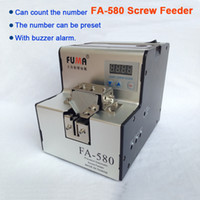 Wholesale FA Precision automatic counting screw feeder TAIWAN quality screw counter automatic screw dispenser with buzzer alarm