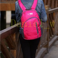 Wholesale Durable Ultra Light weight Foldable Liter Kids School Backpack Book Bag for short trip travel Daypack