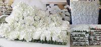 background silk - EMS cm cm Artificial silk rose flower wall wedding background lawn pillar flower road lead flower