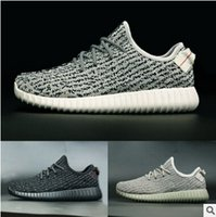 athletic stores - 2016 summer new men sneakers Kanye West pirate black running shoes factory stores boost low sales Athletic Basketball Shoes