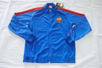 barcelona red sleeves - Quality assurance spain barcelona red black bule men Long sleeve thailand soccer jacket Jerseys uniforms Tracksuit