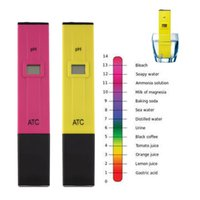 Wholesale Accurate Durable Digital pH Meters Water Soil Tester Acidity Acid Testing Pen Hours Usage for Aquarium Pool Water Laboratory