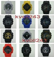 Wholesale 12colors GA100 men s sports watches men boy wristwatch military watch digital watch