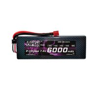 Wholesale HRB Hard Case T plug RC Car Lipo Battery S V mah C Max C Toys Hobbies Helicopter Remote Control Car Boat Parts
