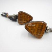 Wholesale 2pcs Universal Motorbike Motorcycle Waterproof LED Turn Signal Light Lamp Amber Brand New