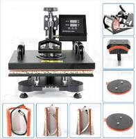 Wholesale Advanced NEW DESIGN IN Tshirt Mug Cap Plate Combo heat press machine Heat press Sublimation machine Heat transfer machine
