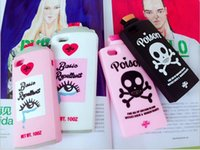 basic iphone case - Basic Repellent Skull Poison Bottle Mobile Case Silicone Anti Falling Off Soft Mobile Case For Iphone S S Plus Splus