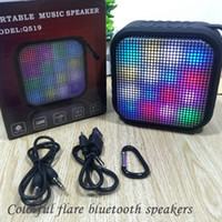Wholesale Bluetooth Speakers LED Color Subwoofer Mini Speaker Portable Wireless Mini Bluetooth Speaker Amplifier For Music Outdoor Handfree