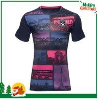 Thailand jersey soccer Baratos-2016 2017 Burdeos 3ª camisetas de fútbol calidad de Tailandia de 16 17 des Girondins Tercera muti-color de camiseta de fútbol Maillot Battiston