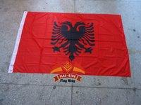 albania flag - polyester Albania national flag CM country banner Digital Printing flag king can custom desgin
