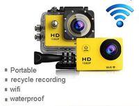 Wholesale SJ6000 Style WIFI Action Camera W9 Helmet sport Camera degee Lens M waterproof FHD P HDMI Car DV DVR